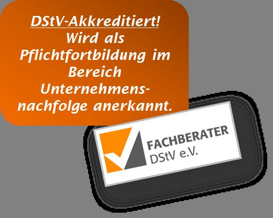 Akkreditiert vom DStV!